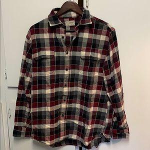 Men's flannel, large